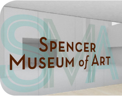 Environmental Graphic Design for Spencer Museum of Art