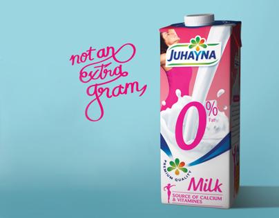Juhayna 0% fat Milk