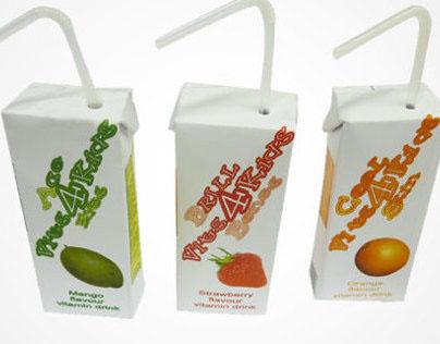 Vits 4 Kids fruit drink cartons