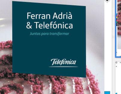 Telefónica & Ferran Adrià
