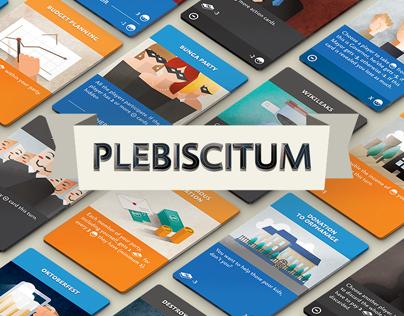 Plebiscitum: a game of popularity.