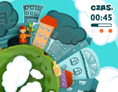 Biocity.pl - Educational Games Design