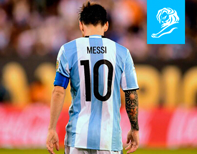 Contragolpe. Messi, Andate.