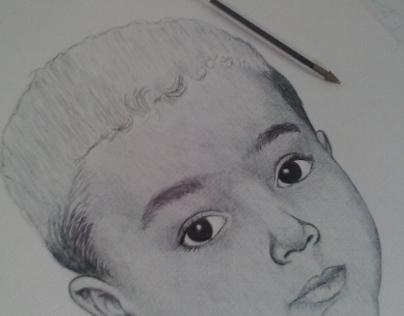 O menino