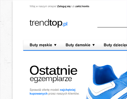 TrendTop.pl - shoe shop