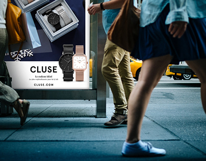 Festive 'Out Of Home' campaign for Cluse