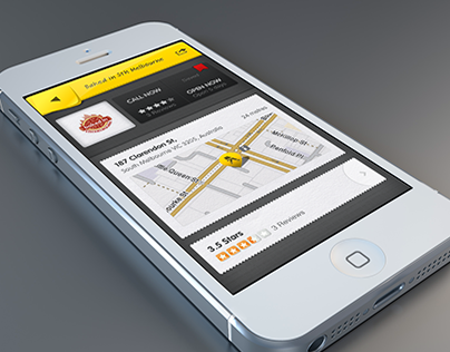 iOS App Yellowpages