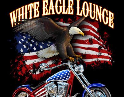 White Eagle Biketoberfest 2012 Shirt Design