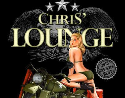 Chris' Lounge Shirt Design