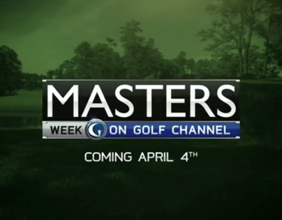 GOLF CHANNEL // Masters Week