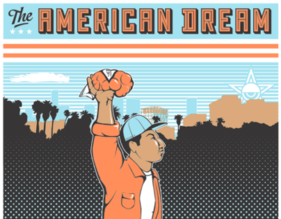 American Dream Print