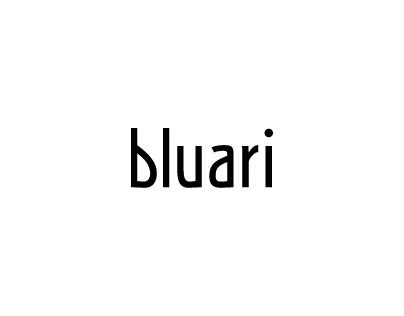 Bluari logotype concept
