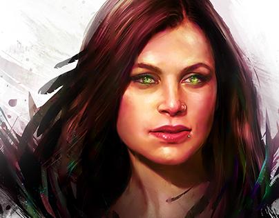 Digitally Painted Portraits