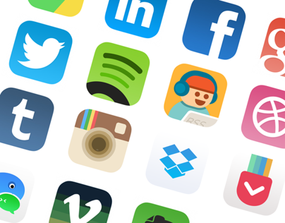 [PSD]iOS 7  512px App Icon Redesign