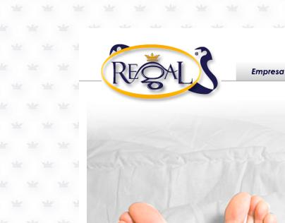 Página Web Colchones Regal