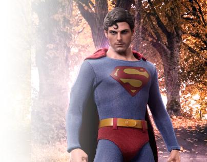 Superman Retouching
