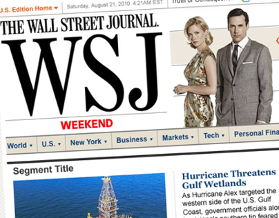 WSJ.com Weekend Header