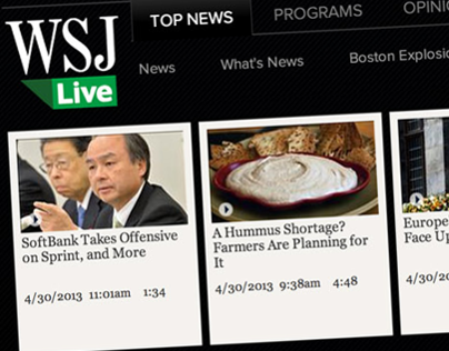WSJ LIVE Video Center