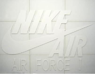 NIKE AF1 at NIKE BRANDSPACE