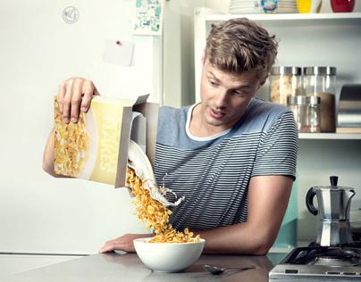 Milk & cornflakes