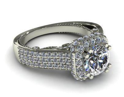 My Verragio Relistic Ring Render Vol 01