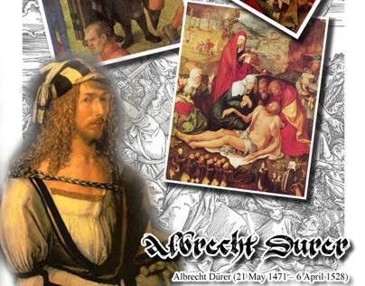 Poster - about Albrecht Durer