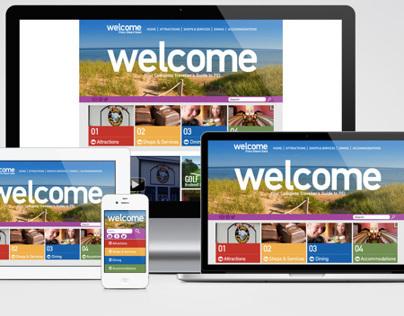 welcomepei.com Website Design