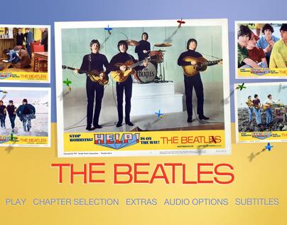 The Beatles, Help Blu-ray Menus (no audio)