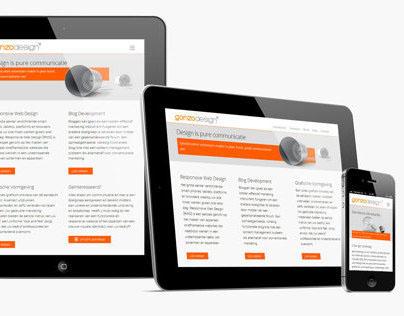 gonzodesign | Responsive WordPress Theme