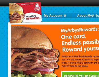 My Arby's Rewards Campaign