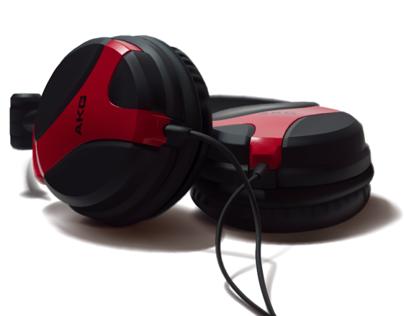 AKG k518 headphones