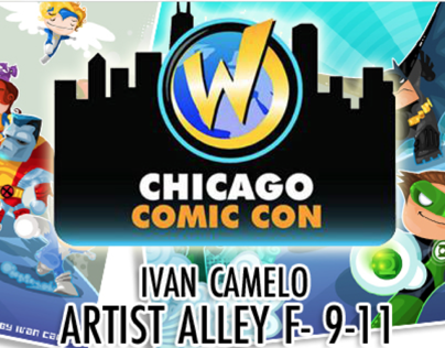 Chicago Comic Con 2013 Posters