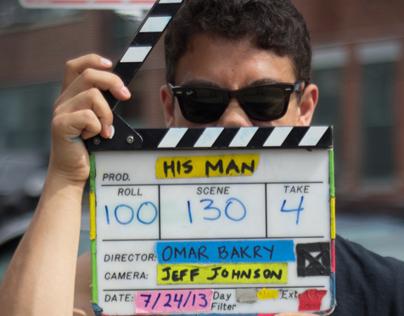 STILL PHOTOGRAPHY - HIS MAN