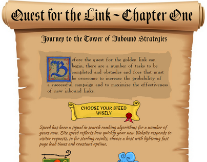 Journey to the Tower of Inbound Strategies: Infographic