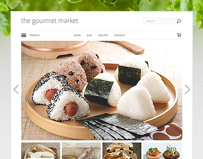 the gourmet market