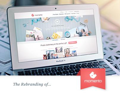 MOMENTO  | Rebranding