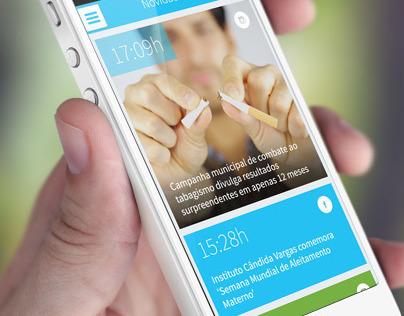 Saúde em Dia App for iOS