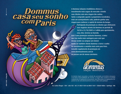 Dommus your dream home in Paris