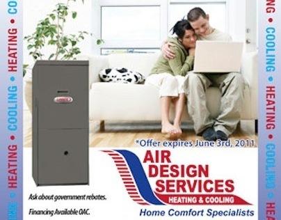 Air Design Services Print Ad