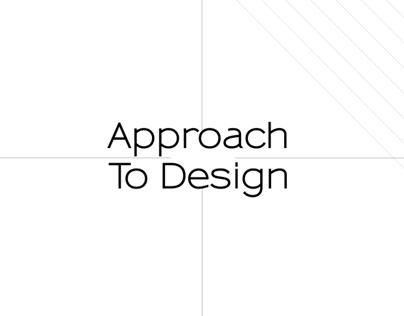 Approach to Design