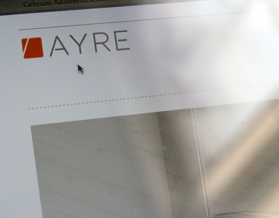 Ayre Website and Brand refinement
