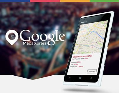 Google Maps Xpress