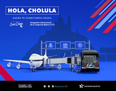 Campaña: Aeropuerto Estrella Roja (Nueva Terminal)