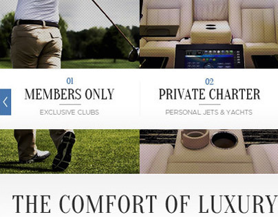 Mercedes-Benz | Luxury Experiences | Promo Page
