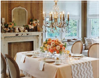 La Tavola Magazine Advertisement:Martha Stewart Wedding