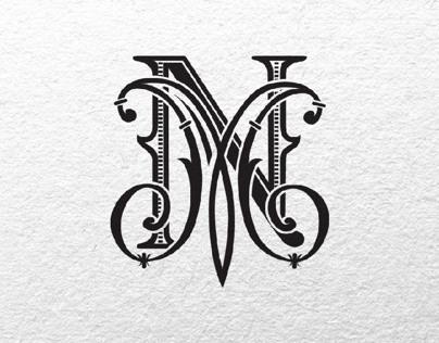 Monogram for luxury wedding