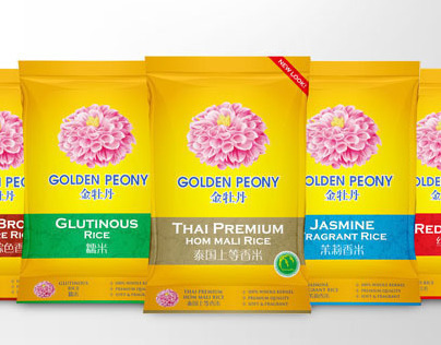 Golden Peony Rice Redesigned