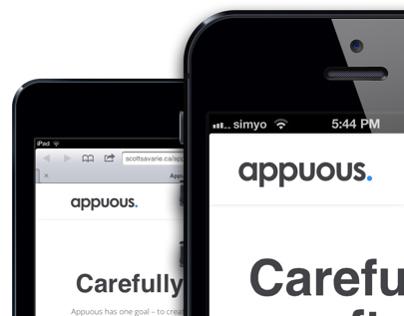 Appuous Website