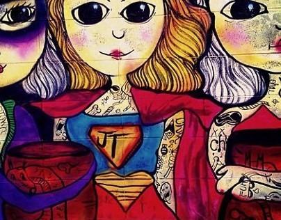 Three a superwoman
