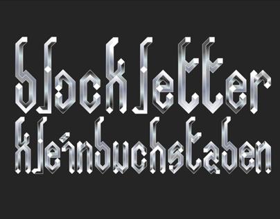 Blockletter-Work In Progress
